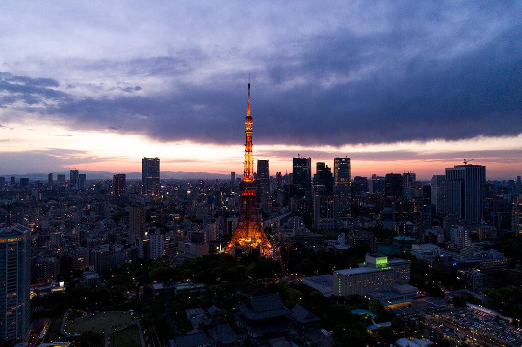 イギリスのオリンピック放送のバーチャルスタジオの東京360°撮影